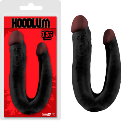 NMC Hoodlum 15.5 inch Double Ender Dong Black F06J077A00-010 4897078623011