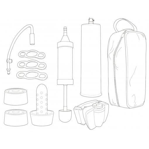 NMC Hype Xcite Magilift Optimized Penis Pump Kit 2M3098 4892503069471 Content Art Detail
