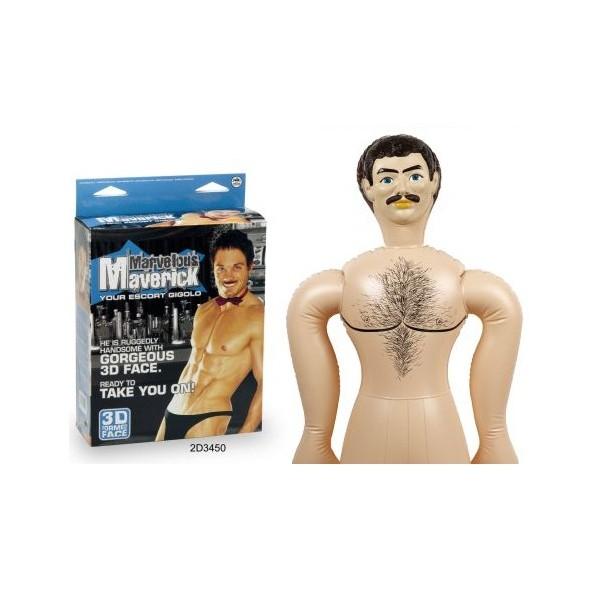 nmc marvellous maverick male love doll 2d3450 face detail