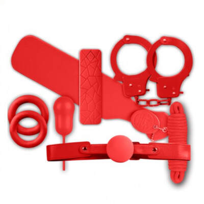 NMC The Mean Couple Bondage Romance Kit Red FKI024A000 008 4892503164213 Detail