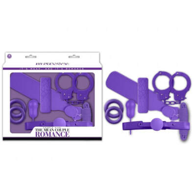 NMC The Mean Couple Bondage Romance VIbrator Kit Purple FKI024A000 022 4892503164978 Multiview
