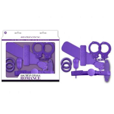 NMC The Mean Couple Bondage Romance VIbrator Kit Purple FKI024A000 022 4892503164978 Multiview