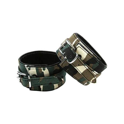 NS Novelties Kinky Camo Wrist Cuffs NSN-1253-18 657447093746