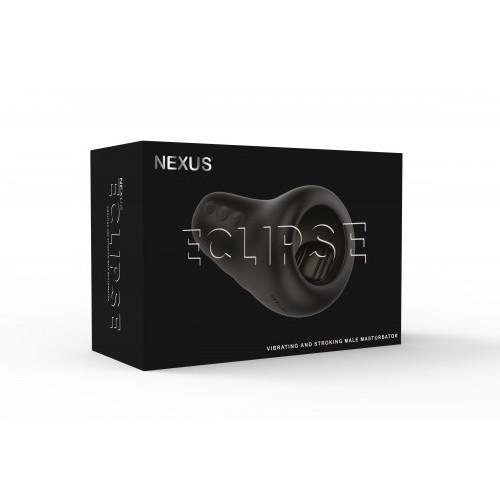 Nexus Eclipse Penis Tip Auto Stroker Masturbator Black ECL01 5060274220004 Boxview