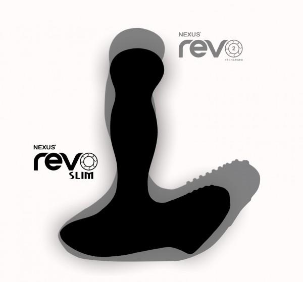 Nexus Nexus REVO Slim Remote Controlled Prostate Massager Black 5060274220929