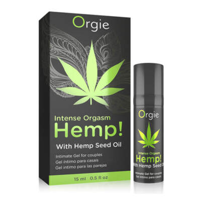 Orgie Hemp Intense Orgasm Intimate Couples Gel 15ml 5600298351393 Multiview