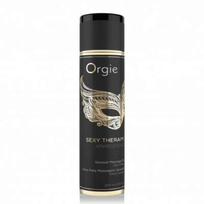 Orgie Sex Therapy Aphrodisiac Massage Oil 200ml 5600298351263 Boxview