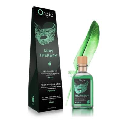 Orgie Sex Therapy Lips Massage Kit Apple 100ml 5600298351300 Multiview