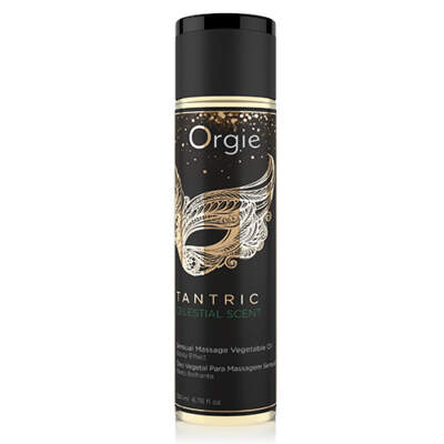 Orgie Tantric Celestial Scent Massage Vegetable Oil 200ml 5600298351249 Boxview