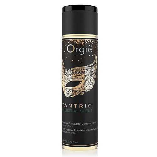 Orgie Tantric Celestial Scent Massage Vegetable Oil 200ml 5600298351249 Boxview