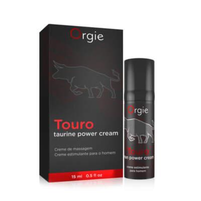 Orgie Touro Taurine Power Erection Cream 15ml 0560029835122 Multiview