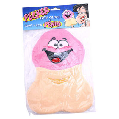 Ozze Creations Penis Shaped Bath Glove Lufah 623849031389 Boxview