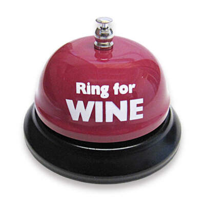 Ozze Creations Ring For Wine Novelty Service Bell Red TB 04 E 623849032133 Detail