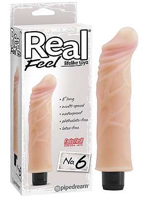 Pipedream Real Feel 8 Inch Penis Look Vibrator PD1376-21 603912296808