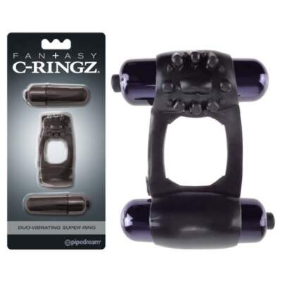Fantasy C-Ringz  Duo-Vibrating Super Ring - PD 5963-23 - 603912747850