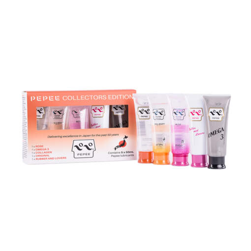 Pepee Lubricant Collectors Edition 5 Pack 50ml Tubes 806809672321 Multiview