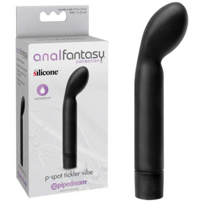 Pipedream Anal Fantasy Collection P Spot Tickler Vibe Black PD4628 23 603912332247 Multiview