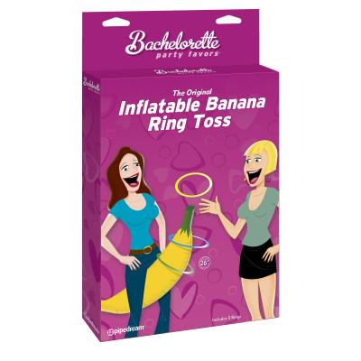 Pipedream Bachelorette Party Inflatable Banana Ring Toss Game PD8211-00 603912282061