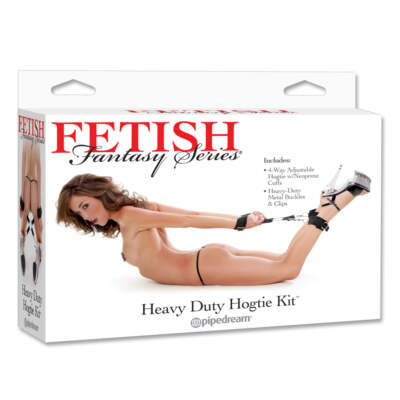 Pipedream Fetish Fantasy Series Heavy Duty Hogtie Kit PD3741 23 603912312416 Boxview