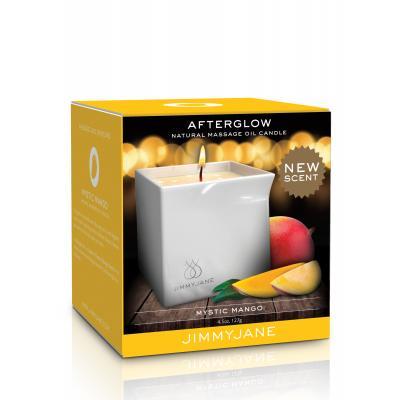 Pipedream Jimmyjane Afterglow Massage Candle Mystic Mango JJ11738-01 603912754988