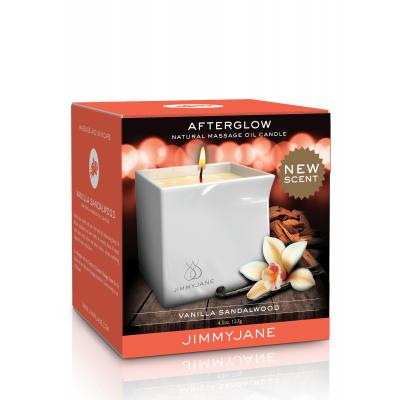 Pipedream Jimmyjane Afterglow Massage Candle Vanilla Sandalwood JJ11737-01 603912754971