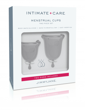 Pipedream Jimmyjane Silicone Menstrual Cups Clear JJ10601 603912754872
