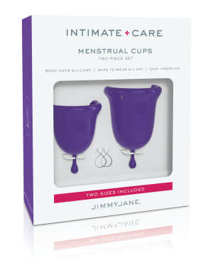 Pipedream Jimmyjane Silicone Menstrual Cups Purple JJ10600 603912754865