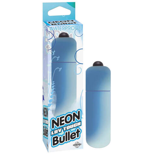 PD 2631-14 - Neon Luv Touch Bullet - Blue - 603912257854