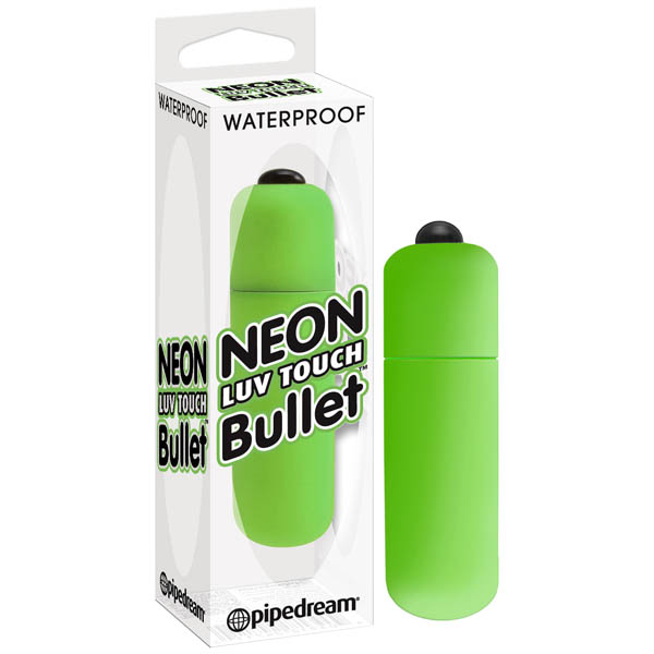PD 2631-16 - Neon Luv Touch Bullet - Green - 603912257861