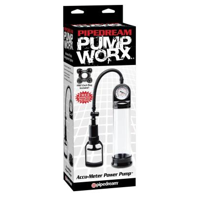 Pipedream Pump Worx Accu Meter Power Pump Clear PD3272 23 603912295245 NewBoxview