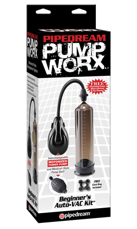Pipedream Pumpworx AutoVac Penis Pump PD3286-00 603912319910