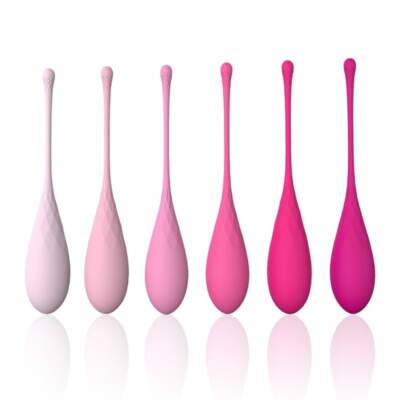 Playful Diamonds Kegel Eggs Weighted Kegel Set Pink SHD-S009 6003084070000