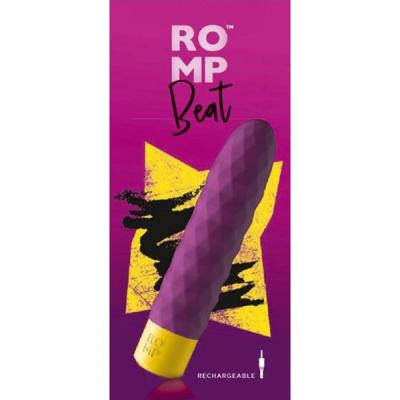 ROMP Beat Vibrating Mega Bullet Purple RPBBSG4 4251460601290 Boxview