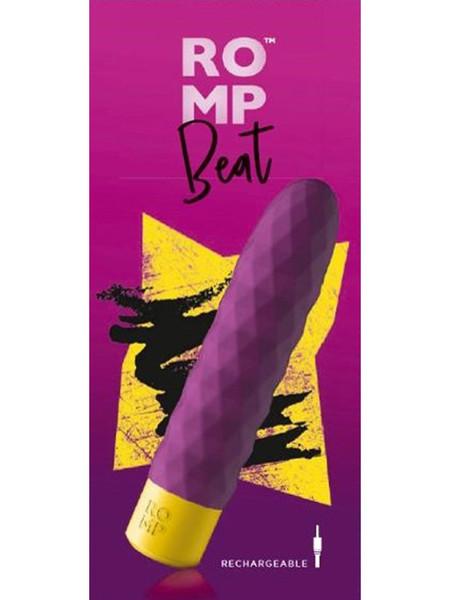 ROMP Beat Vibrating Mega Bullet Purple RPBBSG4 4251460601290 Boxview