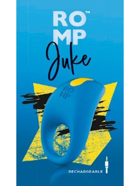 ROMP Juke Vibrating Cock Ring Blue RPCRSG5 4251460601320 Boxview