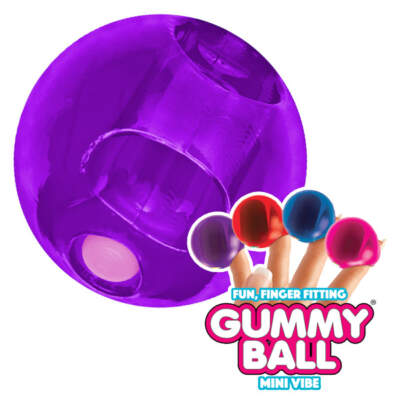 Rock Candy Toys Gummy Ball Finger Vibe Purple