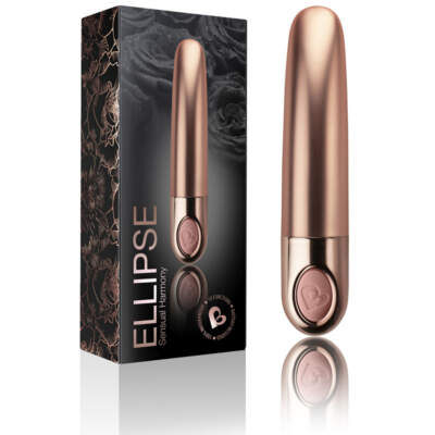Rocks Off Ellipse Vibrator Metallic Dusk 10ELPSMTDP 811041014327 Multiview