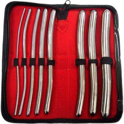 Rouge Stainless Steel Hegar Dilator Set 8Pc RHD041 5060404815773 Detail