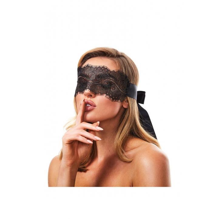 Secret Kisses Boudoir Lace Blindfold SK 1001 884472024760 Detail
