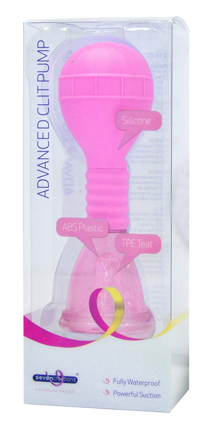 Seven Creations Advanced Clit Pump Pink Y0006R4SPGBX 6946689006282 Boxview
