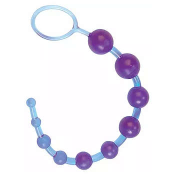 Seven Creations Dragonz Tail 12 inch Anal Beads Purple 2K79LV 4890888211898 Detail