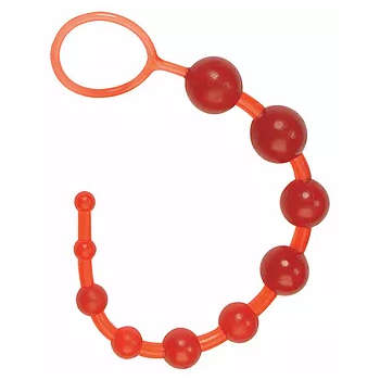 Seven Creations Dragonz Tail 12 inch Anal Beads Red 2K79RD 4890888311895 Detail