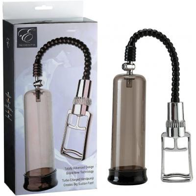 Seven Creations Execuitive E Penis Pump Smoke Chrome 2K499SMK S BX 4890888132308 Multiview