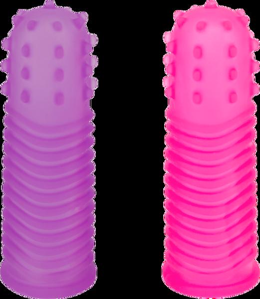 Seven Creations Lust Finger Sleeve Kit 2pk 19-88CLV2C78-BCD 4890888141485