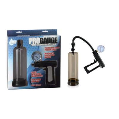 Seven Creations Pro Gauge Penis Enlargement System Penis Pump Smoke 16 24 BX 4890888127830 Multiview