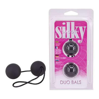 Seven Creations Silky Smooth Duo Balls 2K949ABLK 4890888120961 Multiview