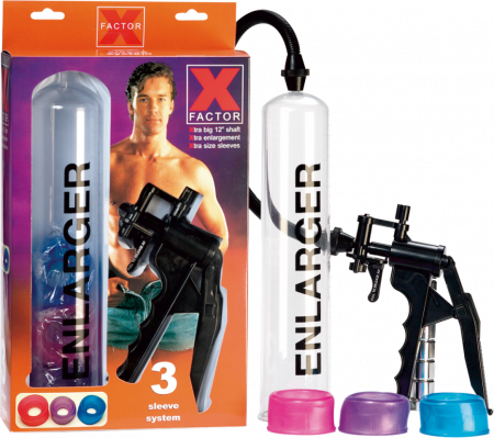 Seven Creations X Factor 12 Inch Penis Pump Clear 2K220 3 BX 4890888113604 Multiview