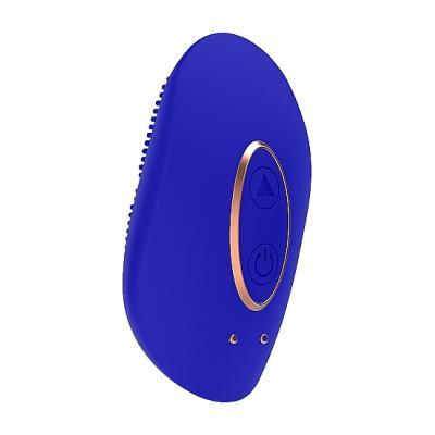 Shots Elegance Precious Rechargeable Mini Clitoral Stimulator Blue ELE010BLU 8714273925480