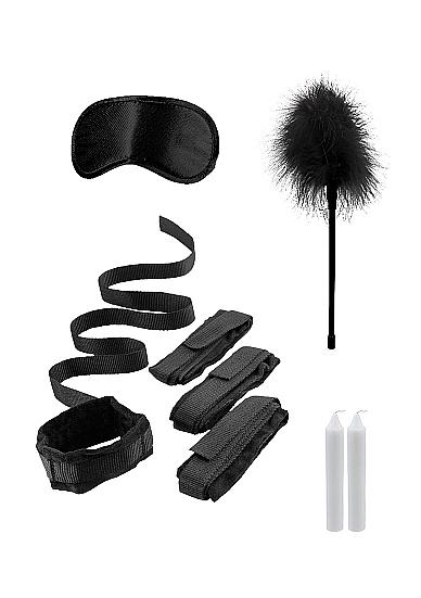 Shots Ouch Bed Bindings Restraint Kit Black OU374BLK 8714273504142 Detail