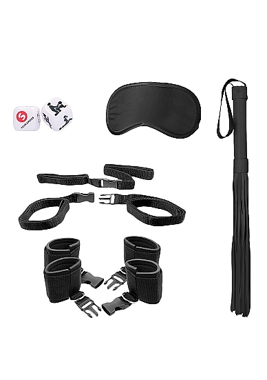 Shots Ouch Bed Post Bindings Restraint Kit Black OU377BLK 8714273504180 Detail